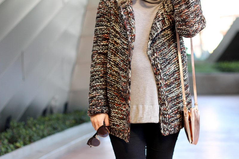 cozy winter layers