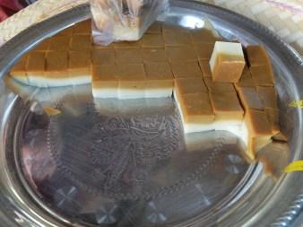 Creme caramel type dessert