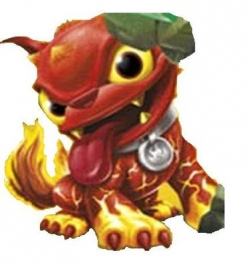 Skylanders Giants Figure - Hot Dog