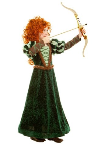 Brave Merida Costumes - child-courageous-forest-princess-costume