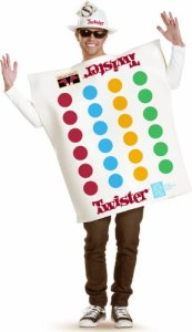 Board Game Costumes - Unisex Twister Costume