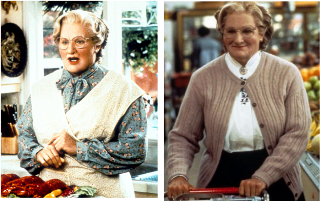Mrs. Doubtfire Costume Ideas