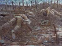 CRW Nevinsn, PAĐZ V GLWRI, 1917