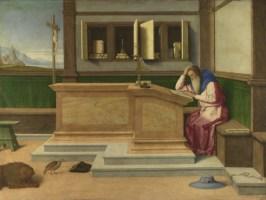 Vinčenzo Catena, ST. JRÔM IN HIZ STUDI, c. 1510