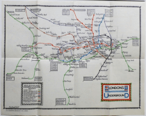 LUNDN UNDRGRÂNDSISTM MAP, 1922