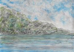 COAST │ August 2016 │ Charcoal and pastels on paper