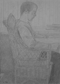 MIKE │ May 1996 │ Pencil on A4 paper