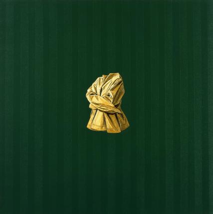 RSTRÊNÑCÔT II (FĪMÊL) │ 1995 │ Ŷl n acrilic on canvs │ 152.4 x 152.4 sm │ Aḅdīn Ātgaḷri