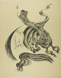 Heinrich Hoerle, 1895-1936. At the End of the Trail, from Krüppel, 1920. Lithograph in black on tan wove paper, 510 x 415 mm (image); 590 x 460 mm (sheet). Margaret Fisher Endowment Fund