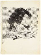 Raster Drawing (Portrait of Lee Harvey Oswald) 1963
