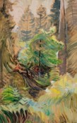 Windswept Trees, c1937-38 by Emily Carr. Photograph: University of Victoria Art Collection