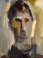 Dorothy Mead. Self-Portrait , 1960, oil on canvas, 61 x 46cm