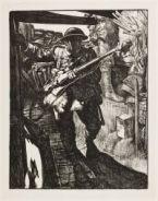 KENNINGTON, Eric Henri. Into the Trenches (1917)