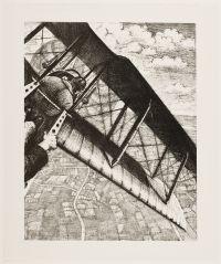 NEVINSON, Christopher Richard Wynne. Banking at 4,000 feet (1917)