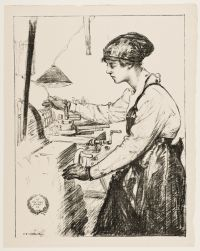 HARTRICK, Archibald Standish. On Munitions: Skilled Work (1917)