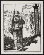 KENNINGTON, Eric Henri. Bringing in Prisoners (1917)