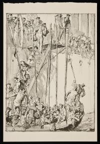 BRANGWYN, Sir Frank William. Going Abroad (1917)