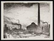 CLAUSEN, George. Where the Guns are made (1917)