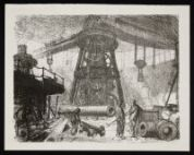 CLAUSEN, George. The Radial Crane (1917)