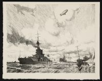 PEARS, Charles. Supplying the Navy (1917)