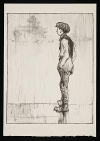 BRANGWYN, Sir Frank William. Youthful Ambition (1917)