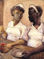 West Indian Waitresses (c. 1955), by Eva Frankfurther