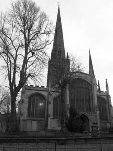Holy Trinity Anglican Church, Priory Row. Grade I listed │ 2013