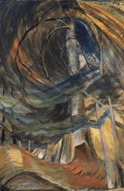 Tree (spiralling upward), 1932-33. Photograph: Vancouver Art Gallery
