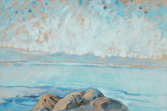 Untitled (Seascape), 1935 by Emily Carr. Photograph: Art Gallery of Greater Victoria