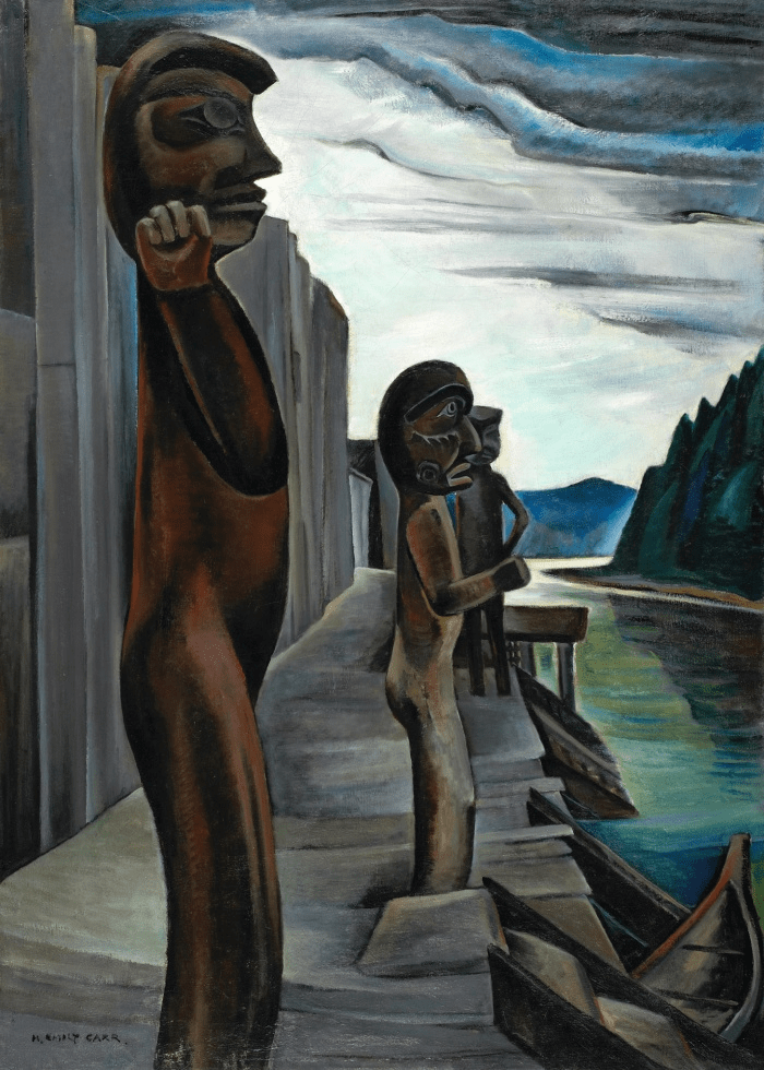 Blunden Harbour, c. 1930. Photograph: National Gallery of Canada, Ottawa