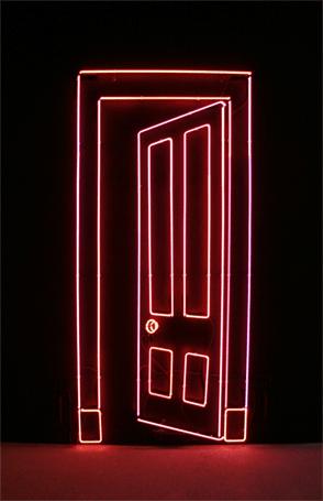 Port (Mauve). 2012. Edition AP. 216 × 100 cm / 7ft 1 × 3ft 3 1/2 ins