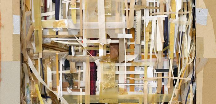 Shinro Ohtake, 'Layers of Time Memory 2, 2013. Courtesy of the artist and Take Ninagawa, Tokyo