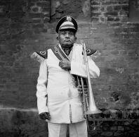 The wedding-band trombone player. 2004. Photo: Jason Scott Tilley
