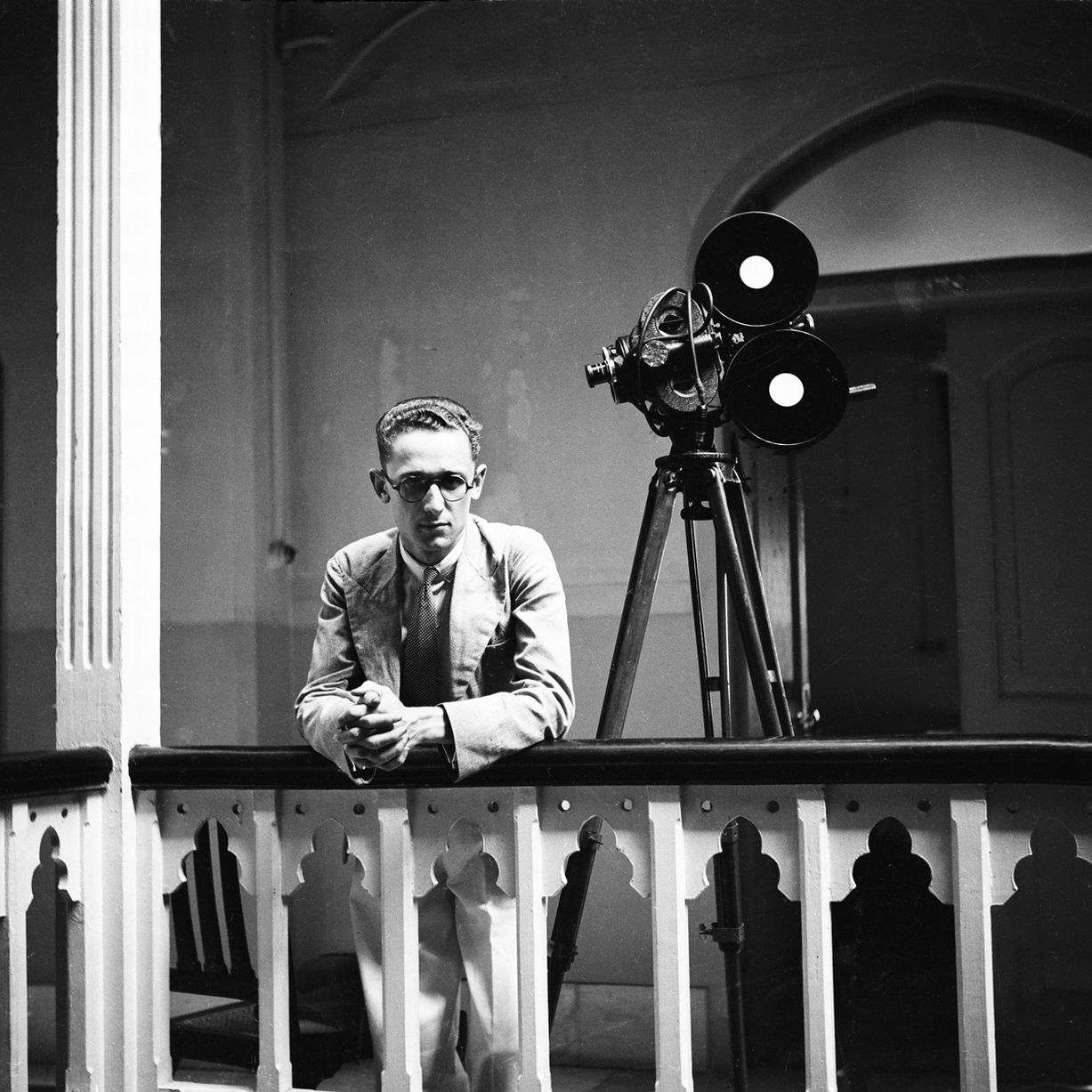 Bert Scott in Bombay as Times of India newspaper photographer in 1936