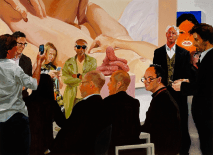 Art Fair: Booth #4 The Price, 2013 Oil on linen 208.3 x 284.5 cm, 82 x 112 in