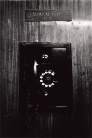 Untitled (New Jersey), 1986. Black and white photograph, 19 x 23 5/6 inches