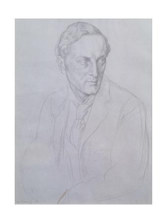 Portrait of Sir Henry John Newbolt