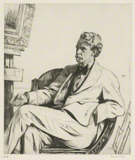 James Hamilton Hay, by Francis Dodd, drypoint, 1913, 12 in. x 10 1/4 in. (305 mm x 259 mm) plate size; 15 5/8 in. x 13 5/8 in. (396 mm x 345 mm) paper size