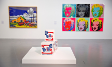 The opening gallery of Transmitting Warhol at Tate Liverpool. Photograph: Christopher Thomond for The Guardian./Christopher Thomond