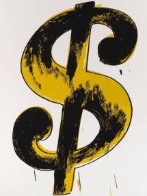 Dollar sign, 1981