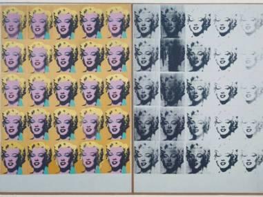 'Marilyn Diptych' (1962)