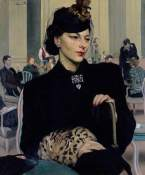 PAULINE WAITING. Date painted: 1939. Oil on canvas, 76 x 64 cm. Collection: Royal Academy of Arts