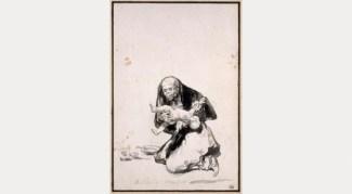Wicked woman, c. 1819- 23. Musee de Louvre, Paris