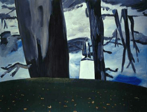 DEXTER DALWOOD Grosvenor Square, 2002, 268 x 347 cm, Saatchi Collection