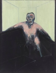 Francis Bacon: Study for Portrait of P.L. No2, 1957. Collection: Sainsbury Centre for Visual Arts