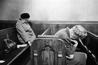 Mankinholes Methodist Chapel, 1975, by Martin Parr