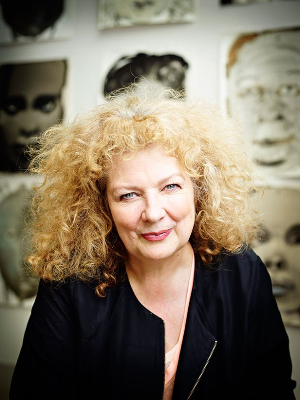 Marlene Dumas photographed by Merlijn Doomernik 2014