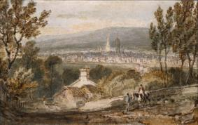 Sheffield, from Derbyshire Lane, c.1797, Joseph Mallord William Turner, Collection of the Guild of St George, Sheffield Galleries & Museums Trust