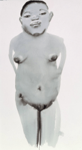 Magdalena 2 1996 Ink on paper image: 1250 x 700 mm Purchased 1996 Marlene Dumas