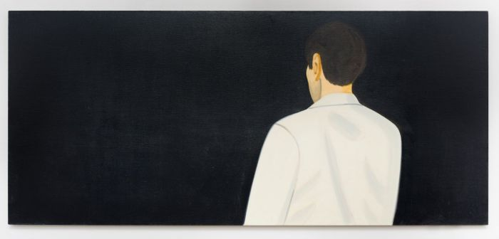 'Vincent', 2014. Oil on linen, 48 x 108 in. / 121.9 x 274.3 cm
